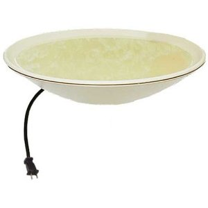 20 inch Diameter Heated Bird Bath Bowl - No Stand