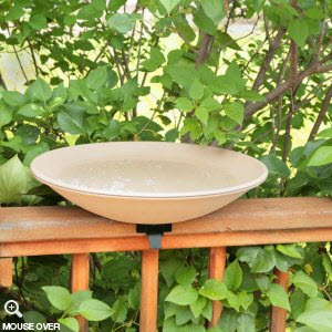 Allied Precision EZ Deck Tilt & Clean Bird Bath