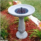 Smart Solar Portsmouth Bird Bath Fountain