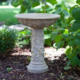 Vine Bird Bath